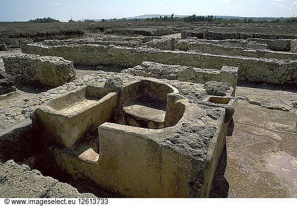 Bad in einer punischen Stadt,  5. Jahrhundert. Künstler: Unbekannt