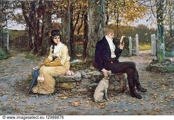 Boughton George Henry - the Waning Honeymoon.