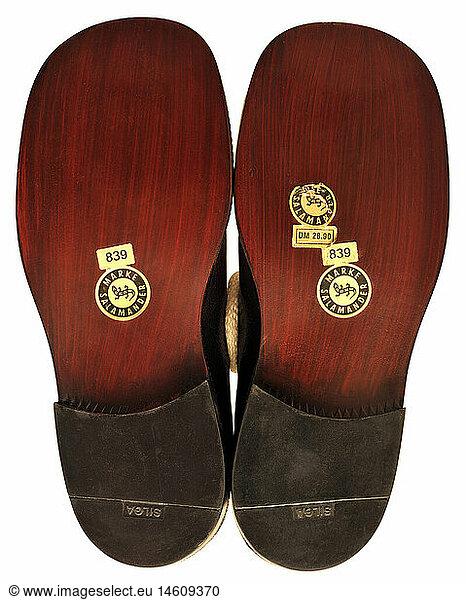 Handmade Basque von verse slippers