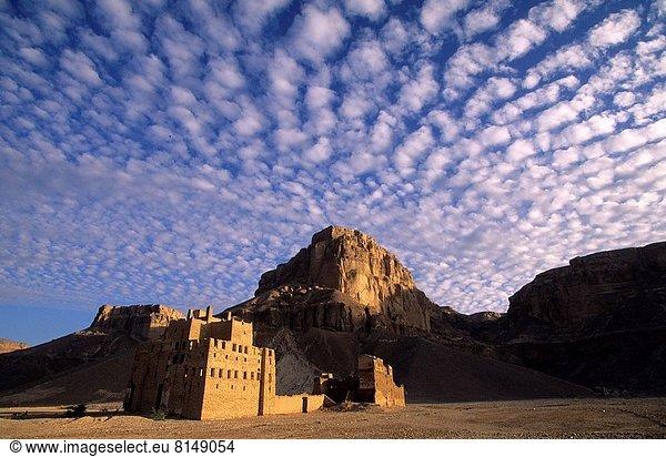 Gebäude , klein , Ziegelstein , Dorf , Schlamm , Jemen