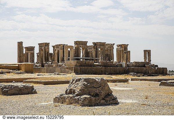 Geografie,  Iran,  Persepolis,  ehemalige Hauptstadt der Achämeniden,  gegründet von König Dareios I.,  520 v.Chr.,  Palast des Dareios
