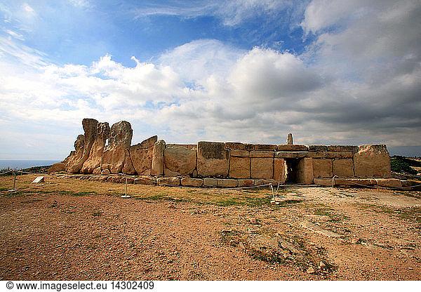 Hagar Qim Temple,  Ancient site,  Malta Island
