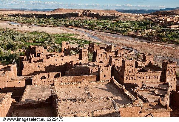 UNESCO-Welterbe , antik , Kasbah , Marokko