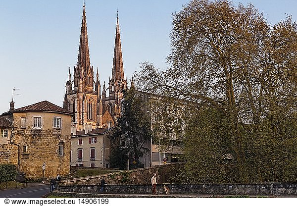 France,  Pyrenees Atlantiques,  Bayonne,  Basque Country,  Sainte Marie Cathedral